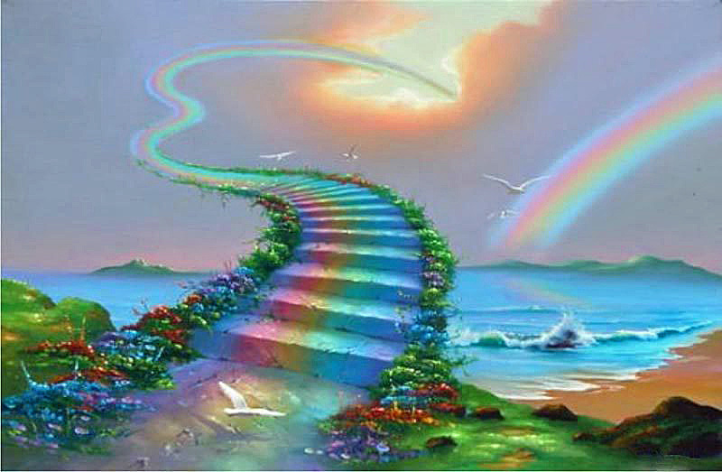 The Rainbow Bridge: Pet Poem and Meaning | I Loved My Pet Blog